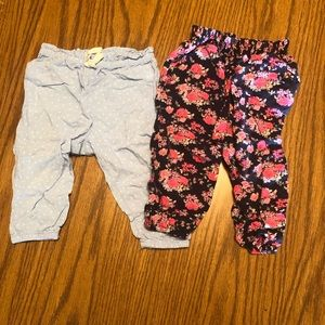 Bundle of Baby Girl Jogger Pants